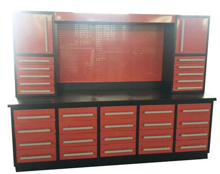 Combine Garage Cabinet Workbench