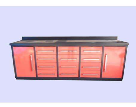 12Drawers Storage Work Benches with 2Doors