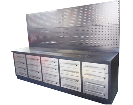 10ft Steel Workbenches with 20drawers