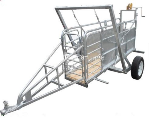 sheep panel trailer