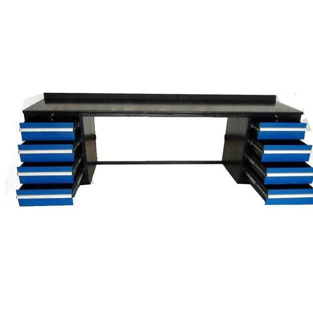 Blue 8 Drawer Filling Workbench