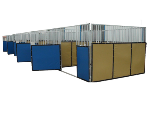 PVC Stable Horse Stall With HDPE