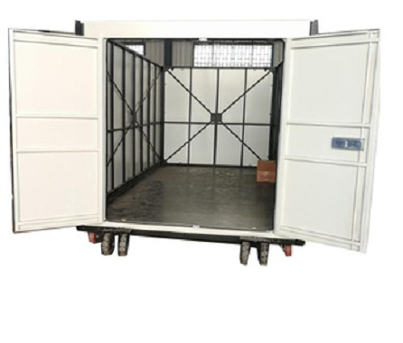 White foldable container